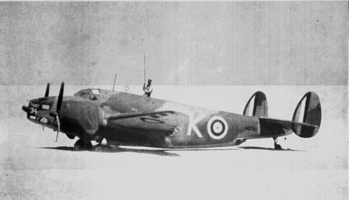 SAAF Lockhead Ventura Bomber photo courtesy of Melbourne Star