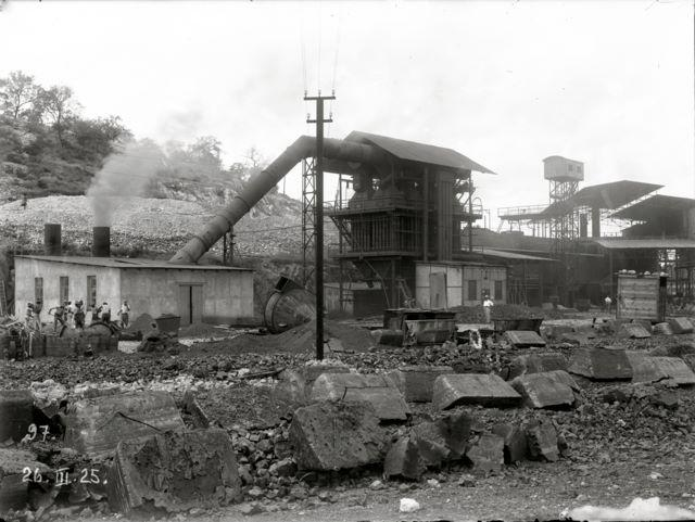 The smelter 1925
