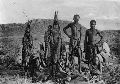 Herero in Namibia Circa 1910