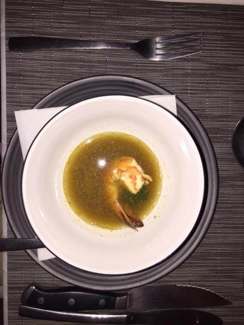 Tom (Yum) Yum Prawn Soup